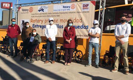sillas, ruedas,entrega, apoyos