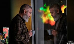 George Clooney, hospital, The Midnight Sky
