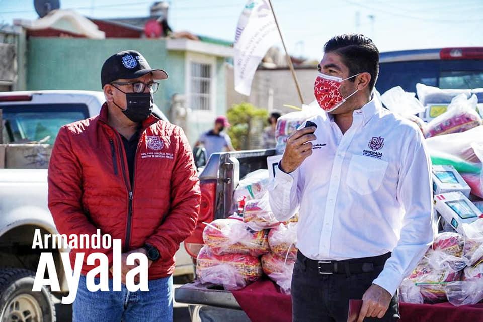 apoyos, Armando Ayala, diciembre Navidad