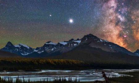 gran conjunción, Júpiter, Saturno, estrella de Belén