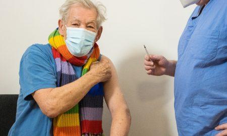 Ian McKellen, Gandalf, vacuna covid-19