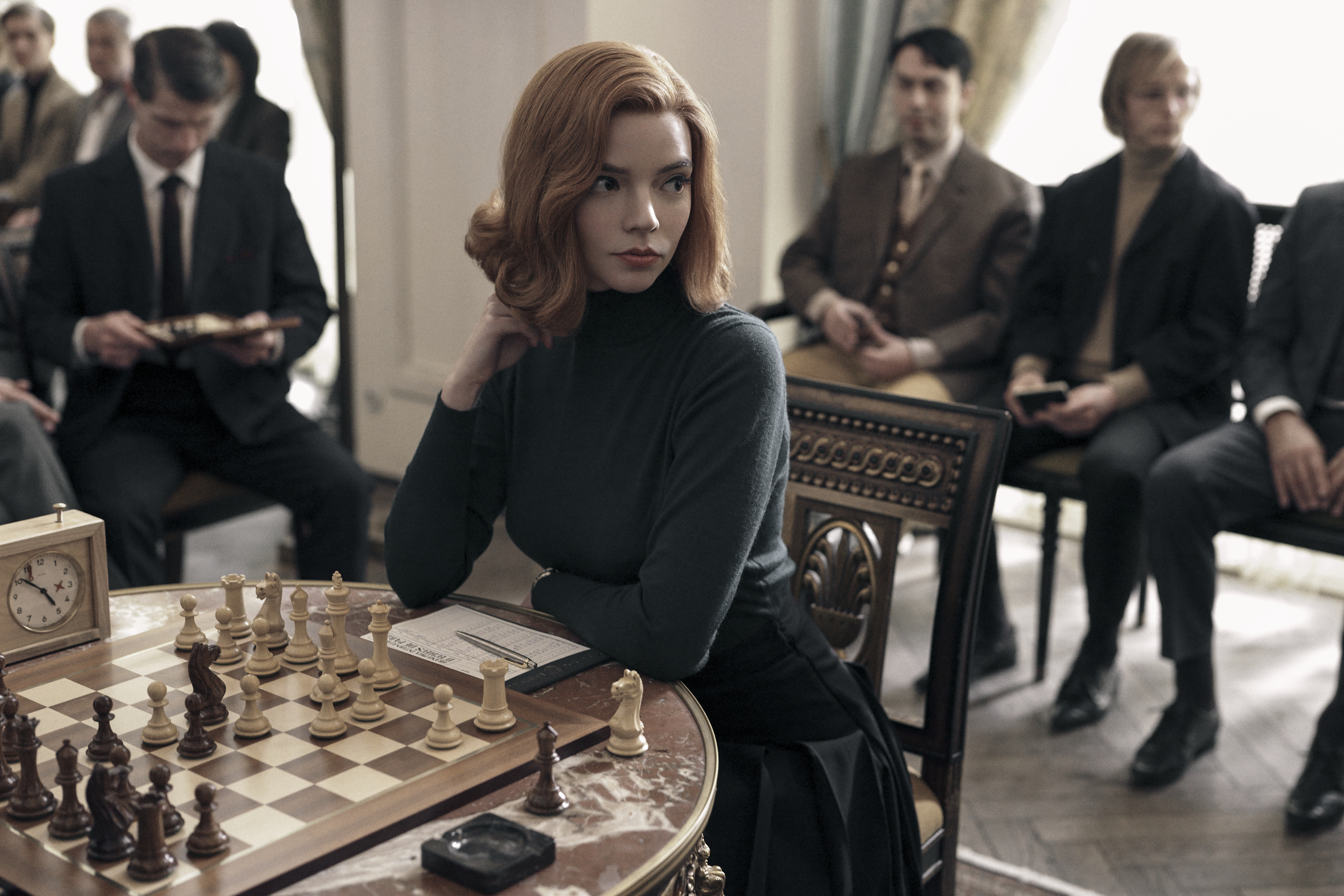 IMDb, mejores series 2020, Gambito de dama, The Mandalorian