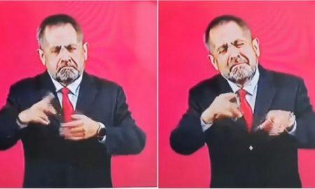 Intérprete, señas, mañanera, Andrés Manuel López Obrador, Carlos Loret de Mola, reacción, video