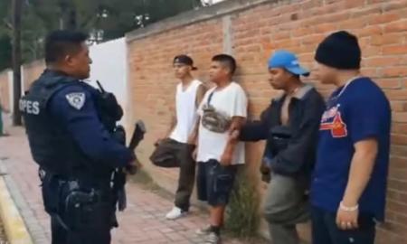 Tlaxcala, rap, policía