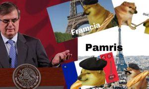 Marcelo Ebrard, memes, Francia, Framcia, Twitter