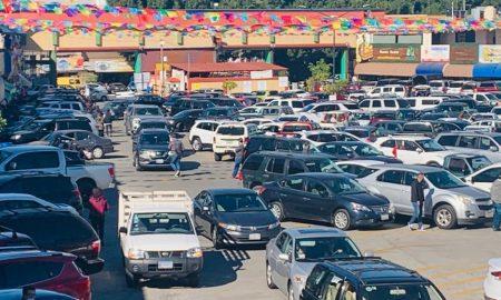 Mercado Hidalgo, Central de Abastos, aglomeraciones, covid-19