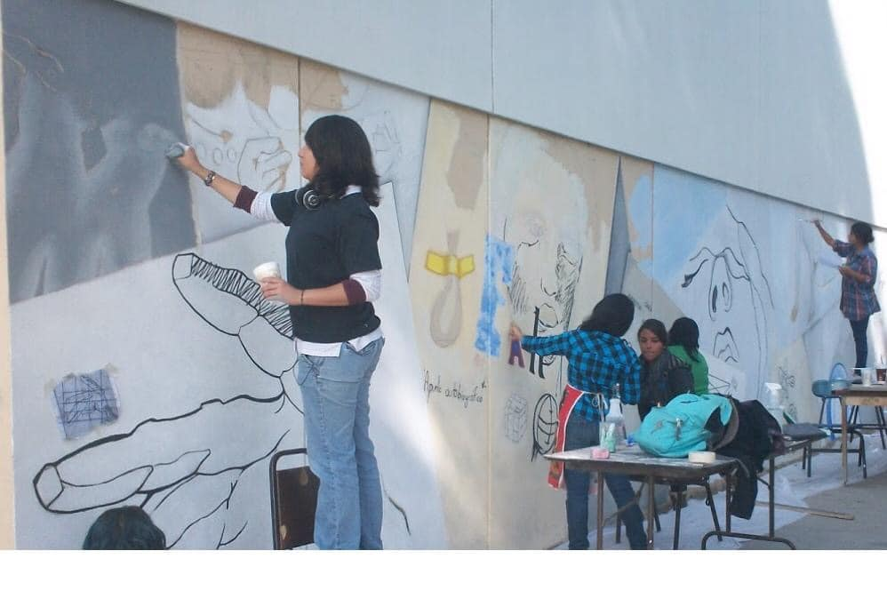 Dirección de Administración Urbana, Ensenada, murales
