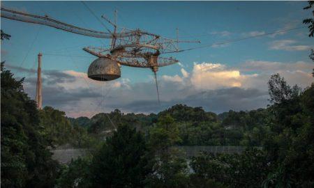El Observatorio de Arecibo, colapso, Puerto Rico