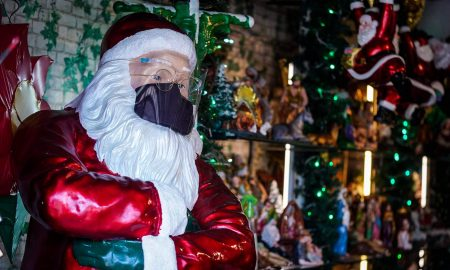 Santa Claus, OMS, covid-19