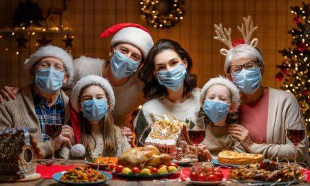 OMS, cubrebocas, reuniones familiares, fiestas navideñas