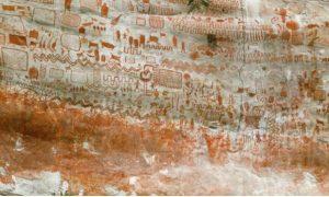 Pinturas, Amazonas, descubrimiento