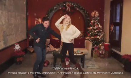 Samuel García, Mariana Rodríguez, video musical, Navidad, redes sociales, viral