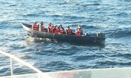 SEMAR, embarcación, rescate, migrantes