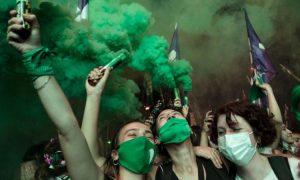 interrupción legal del embarazo, aborto, Argentina, Senado, marea verde