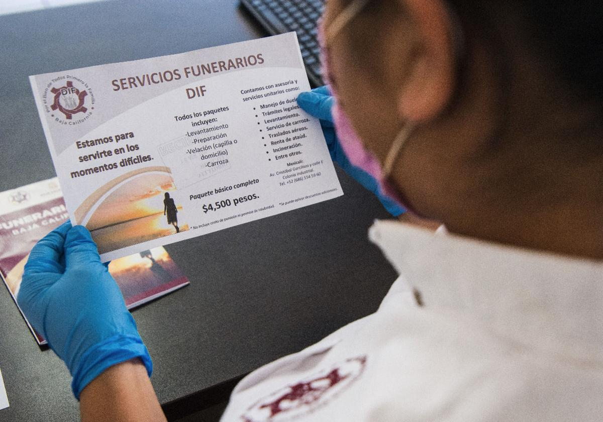 DIF Baja California, apoyo, gastos funerarios, covid-19