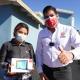 Armando Ayala, donativos, estudiantes, tablets, pandemia
