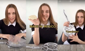 canadiense, prensa, tortillas, TikTok, video viral