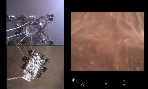 Perseverance, Marte, NASA, video, aterrizaje