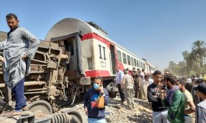 choque, trenes, Egipto, accidente,