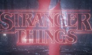 Stranger Things, logo, temporada 4, serie, Netflix