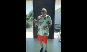 Anthony Hopkins, baile, Elvis Crespo, merengue, video viral